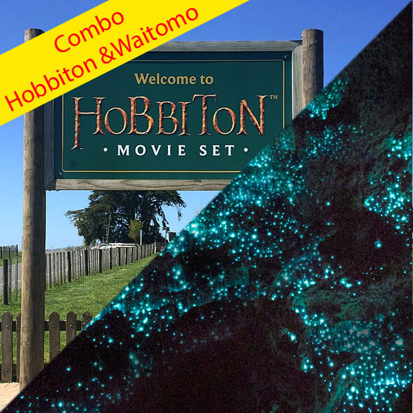 Hobbiton and Waitomo Caves Day Tour